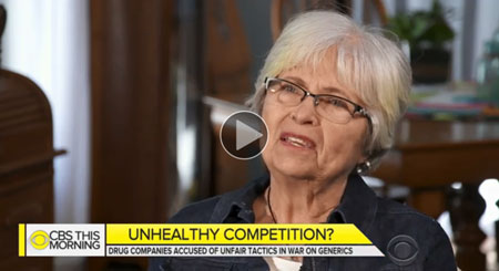 "How critics say drug companies play ""games"" to stave off generic competitors (Video)"