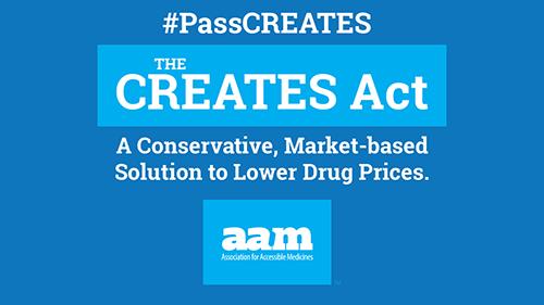 CREATES Act Campaign
