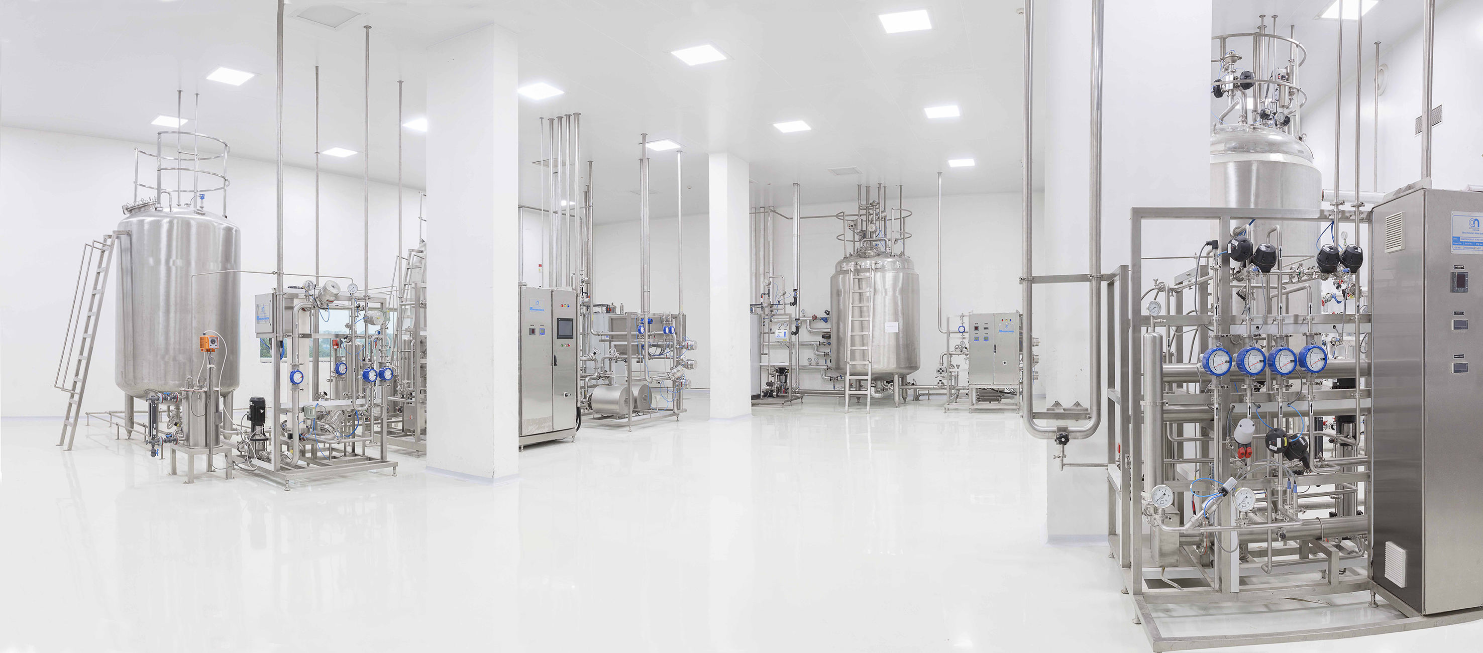 Generic drug manufacturing facility, India