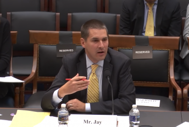 William Jay, Partner of Goodwin Procter LLP - Testimony at hearing on November 9 at the House Judiciary Committee — Subcommittee on Courts, Intellectual Property and the Internet