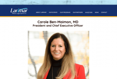 Carole Ben-Maimon—President and CEO of Larimar Therapeutics
