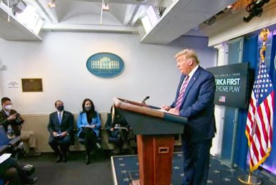 President Trump delivers remarks on delivering lower prescription drug prices