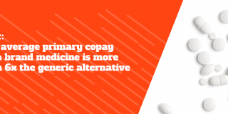 Generic Drug Access and Savings Report - Average Copay